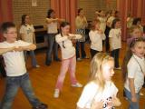 Sunny Stars rehearse for Falkirk Town Hall Show